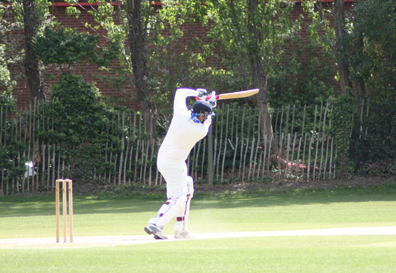 Ryan Pogson drives against Chertsey