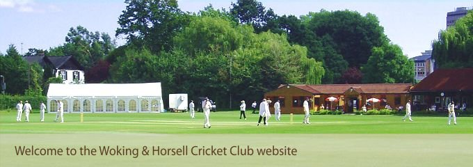 Welcome to the Woking and Horsell Cricket Club website